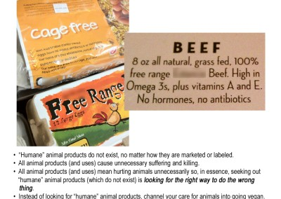 humane animal products