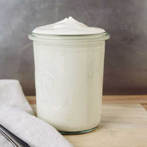Basic Cashew Sour Cream