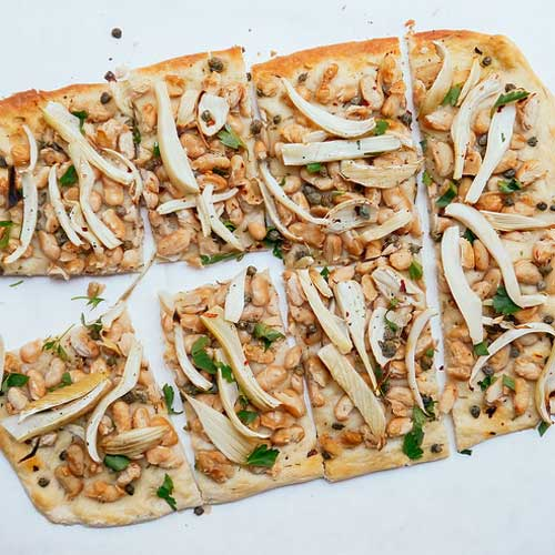 Cannellini Bean & Fennel Flatbread