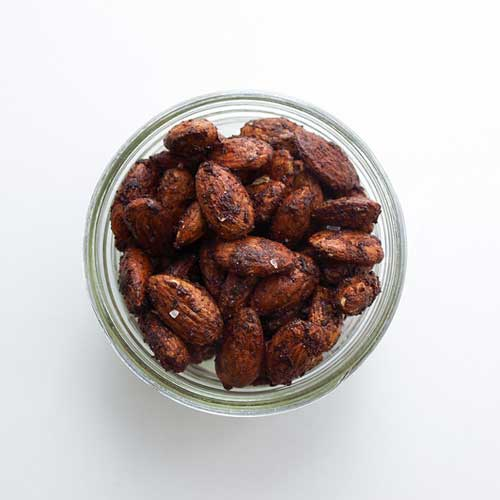 Chocolate Chai Roasted Almonds