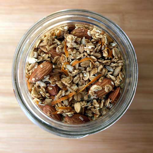 Ginger-Orange Granola