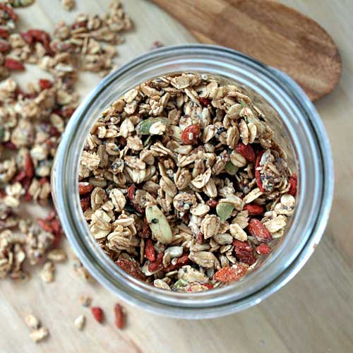 Seeds & Goji Berry Granola