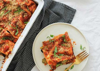 The Ultimate Vegetable Lasagna
